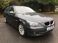 BMW 5 SERIES 520D SE BUSINESS EDITION TOURING (grey) 2009