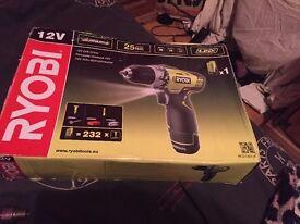 Ryobi Cordless 12V 1.3Ah Li-Ion Drill RCD12011L BRAND NEW