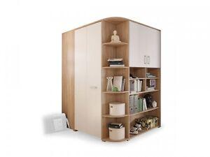 kinderzimmer eckschrank m bel wohnen ebay. Black Bedroom Furniture Sets. Home Design Ideas