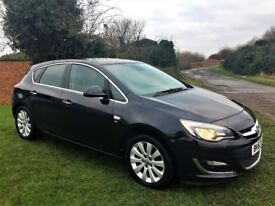 VAUXHALL ASTRA 2.0 CDTi Elite, Full Leather, Excellent all round (black) 2012