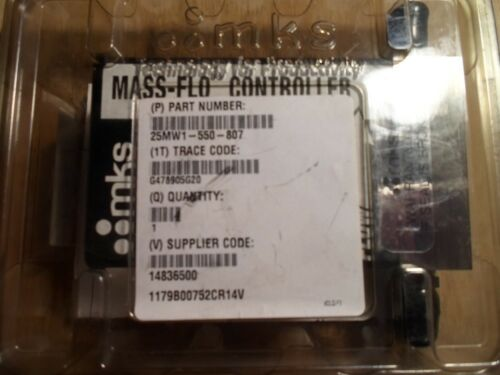 Mks 1179b00752cr14v Mass Flow Controller (new In Package)