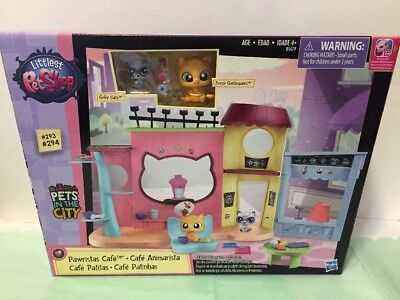 Littlest Pet Shop Pawristas Cafe Playset NEW in Sealed Box Free Shipping
