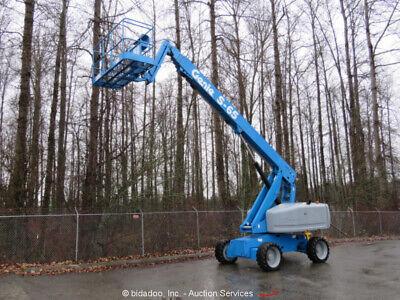 2006 Genie S-65 65 Df Telescopic Boom Lift Aerial Manlift Platform Jib Bidadoo
