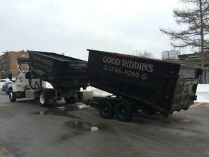 Dumpster Rental (Junk Removal) Roll-Off - GOOD RIDDINS INC. Gatineau Ottawa / Gatineau Area image 7