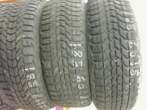 4 Firestone Winterforce tires:185/60R15