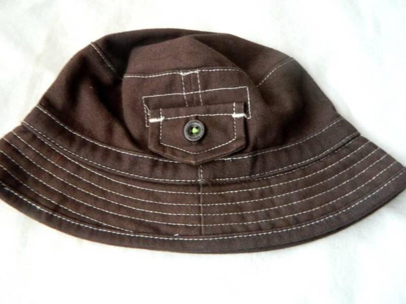 NWOT Baby GAP Boys Bucket Hat 0/6 mo Brown $19.95 on GAP Website