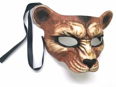 Diy Halloween Animal Costumes (Animal Bear Masquerade Lion mask DIY Halloween costume Haunted House)
