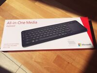 Brand new/unopened: Microsoft All-in-one Media Keyboard (purchased new for £45)