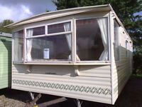 Static caravan 25 x 12 ft 2 bedrooms, in lovely condition, Carnaby Belvedere