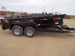 2015 Diamond C 24LPD Dump Trailer
