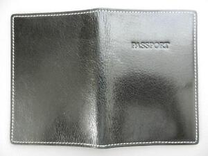 NEW Daines & Hathaway Luxury Passport Cover Leather - UK