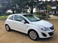VAUXHALL CORSA 1.2 Excite, MOT Oct 2018, 1 Owner from new, Excellent all round (white) 2011