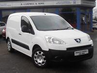 2011 Peugeot Partner 625 SE HDI 3 Seats Van In White