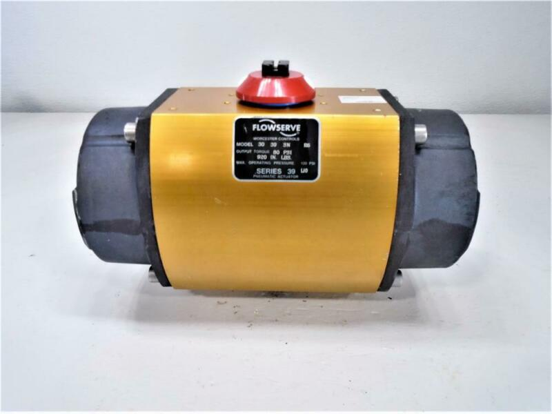 Flowserve Worcester Controls Series 39 Pneumatic Actuator 30 39 SN R6