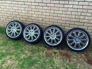 Subaru 5x100 19inch Work Wheels and Pirelli Tyres Karrinyup Stirling Area Preview