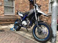 2014 Yamaha WR125X, 12 Months MoT, 12,000 miles, 125CC, Supermoto.