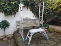 Used Mac Allister Ladder/Platform with Hop-Up - £70