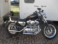 2002 Harley Davidson Sportster 883 Hugger.