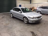 2007 jaguar x-type sport 2.2d low miles fsh full mot leather guaranteed cheapest in country
