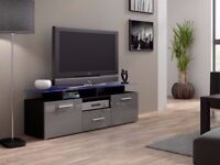 Modern HIGH GLOSS TV Stand Display Cabinet WALL Entertainment UNIT / TV STAND