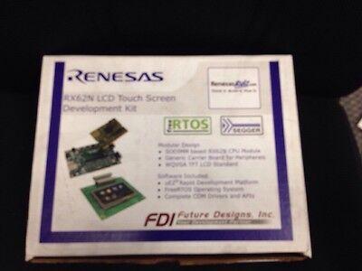 Renesas Dk-43wqt-rx62n Rx62n Lcd Touch Screen Development Kit