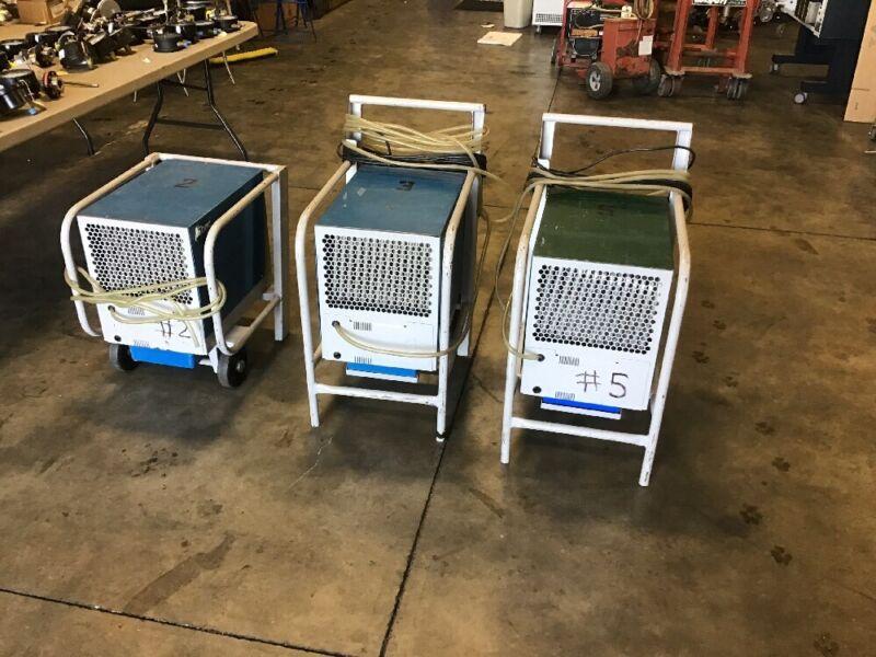 Dehumidifier Ebac BD80 Industrial Portable Restoration Dehumidifier 115V 14Amps
