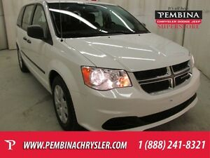 2016 Dodge Grand Caravan SE/SXT *BENCH SEATS, LOW KMS, AIR*