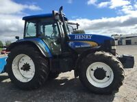 NEW HOLLAND TM190 4WD POWER COMMAND TRACTOR