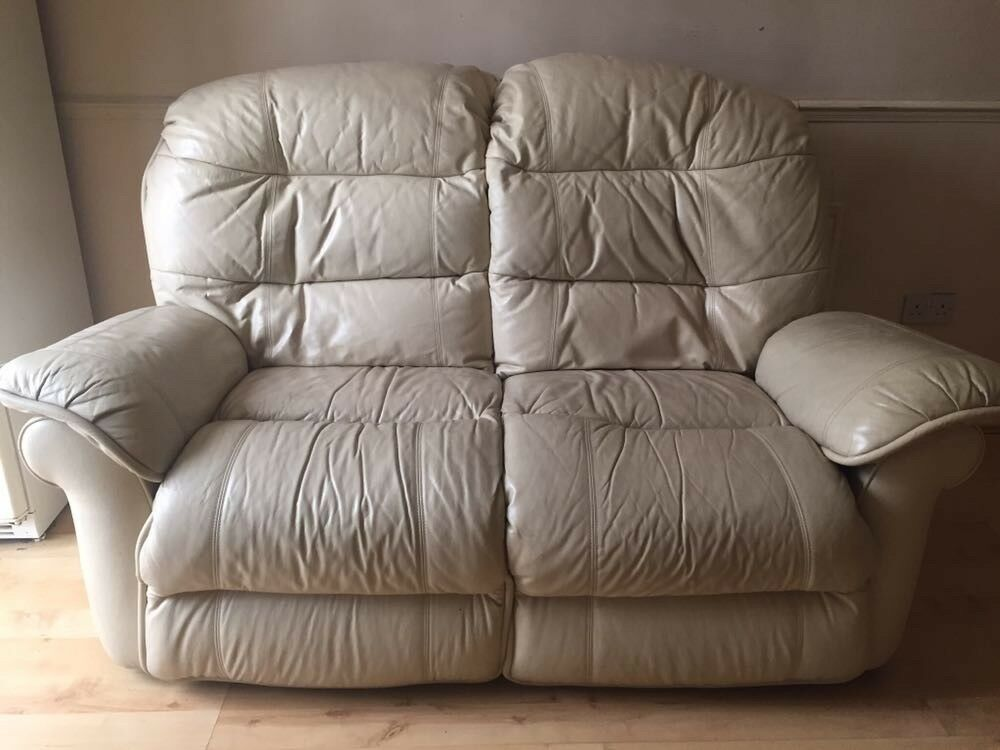 2 x 2 Seat Cream Sofa. Offers welcome. Good Condition. Collection only.