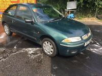 1998 S ROVER 200 214 Si FULL LEATHER MEGA LOW 57K MOT 22/4/17 GOOD TYRES CLEAN THROUGHOUT PX SWAPS