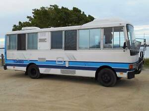 1985 Hino RB145 Turbo DIESEL Motorhome only 165344km Caboolture South Caboolture Area Preview