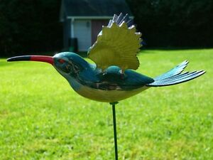 Flying Hummingbird Garden Stake, flapping hummingbird wings Oakville / Halton Region Toronto (GTA) image 3
