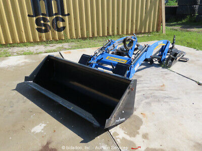 2015 New Holland 250tl Front Loader Boomer Tractor Attachment 72 Bucket Bidadoo