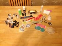 ALL WHAT YOU NEED - Mini Nail Gel Lamp + Nail Art Tools, UV gels and other