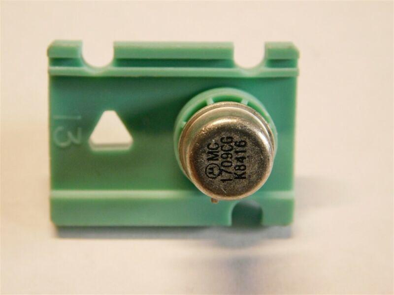 Vintage Motorola MC1709CG Monolithic OP Amp IC Metal Can Package