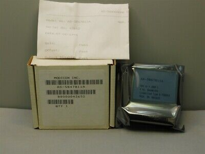 Modicon Schnieder As-5b47b11a 500-1800c Linearized Type B Thermocouple Module