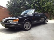 Immaculate 1993 Saab 900i Convertible, Low Ks, Rego & RWC St Kilda Port Phillip Preview