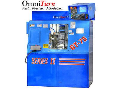 Omniturn Gt-75 Cnc Turning Center Lathe