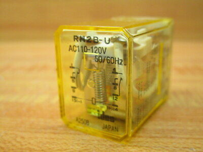 Idec Rh2b-u-ac110120v Relay Rh2buac110120v Pack Of 3