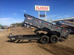 2016 Diamond C 24LPD 14ft Dump Trailer