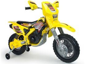 Injusa Drift ZX Dirt Bike 12v Electric Ride On Dirt Bike