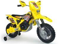 Injusa Drift ZX Dirt Bike 12v Electric Ride On Dirt Bike