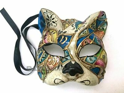 Costumes Of Catwoman (Halloween kitty cat woman mask costume Venetian phantom of the Opera)
