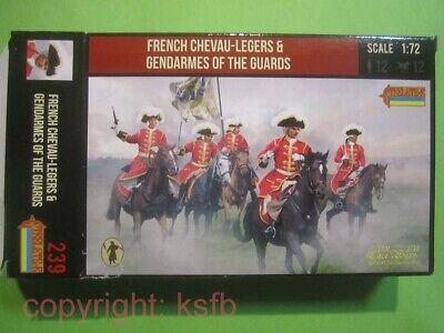 NEU 1:72 Strelets # 239 Spanien Erbfolgekrieg Frankreich Kavallerie Garde Reiter