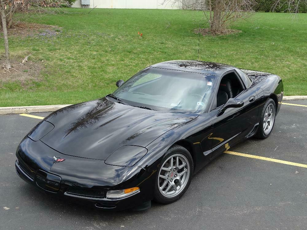 2002 Black Chevrolet Corvette Z06  | C5 Corvette Photo 5
