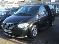 CHRYSLER GRAND VOYAGER CRD EXECUTIVE XS AUTOMATIC DISABLED CONVRTED RAMP (black) 2008