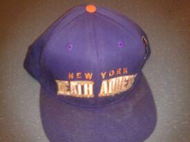 Used Vintage Mishka New York NY Death Adders Purple Orange Snapback Stussy Supreme Grizzlies Bear
