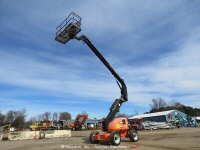2012 Jlg 600a 60 4wd Df Boom Lift Man Aerial Skypower Generator Bidadoo