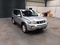 2009 Nissan x trail sport 2.0dci 4wd fsh mint condition guaranteed cheapest in country