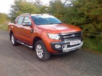FORD RANGER 3.2l Wildtrak 4x4 (orange) 2014